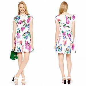 Kate Spade White Floral Dress